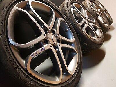 Orig Mercedes CLS W218 X218 Alufelgen Sommerreifen 285/35 R18 255/40 R18 7,5mm