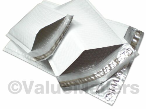 300 #2 (Poly) Airjacket Bubble Padded Envelope Mailers 8.5x12 100 % Recyclable