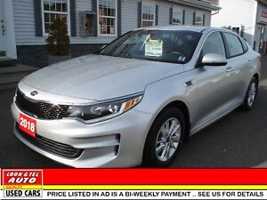 2018 Kia Optima $20495 with  2 k down or trade-in*  LX