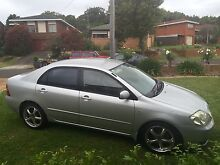 Toyota Corolla Conquest '02 Shellharbour Shellharbour Area Preview