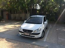 100,000km 2010 Hyundai Getz Automatic with long Rego Fortitude Valley Brisbane North East Preview