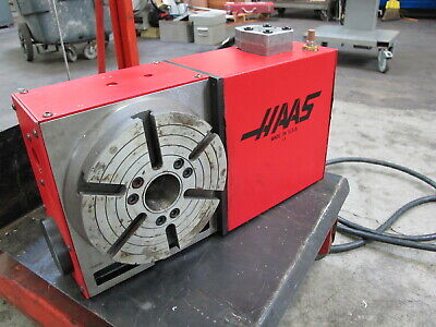 Haas Hrt-210 Brush Type 4th Axis Rotary Table For Sale