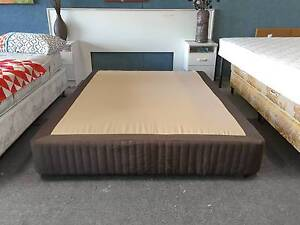TODAY DELIVERY BEAUTIFUL MODERN CHOCOLATE Queen Ensemble bed base Belmont Belmont Area Preview