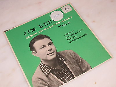 JIM REEVES SONGS TO WARM THE HEART VOLUME 2 MONO EP, 4 TRACKS, RCA VICTOR DECCA