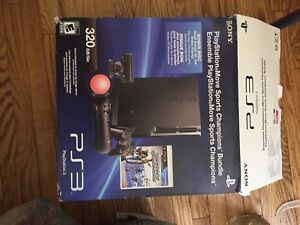 320GB ps3 and 15 games