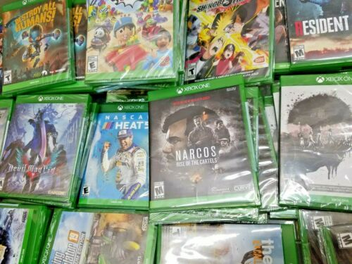 XBOX One Video Games Assorted Titles and Ratings