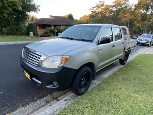 2008 Toyota Hilux Workmate 5 Sp Manual Dual Cab P/up