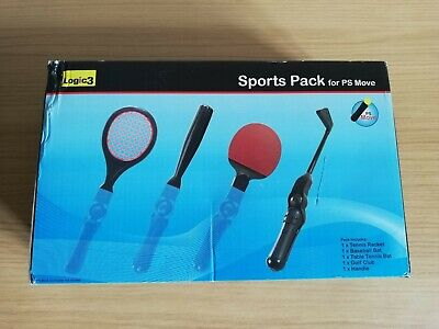Logic 3 Sports Pack For PS Move For Sony PS3 & PS4...