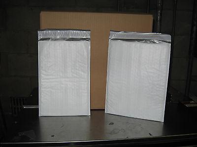 100 - Xpak White Poly Bubble Mailer Combo Pack 50 - 1 50 - 2