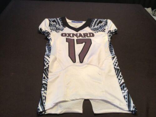 Oxnard Game worn high school football jersey # 17