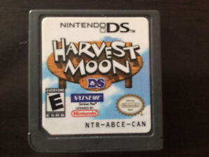 Nintendo DS- harvest moon, natsume -game