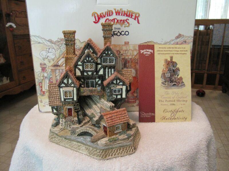 The Potted Shrimp David Winter Cottages Number 0184/4500