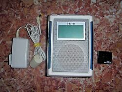 iHome iP40 Speaker Dock Clock Radio Alarm for iPhone iPod