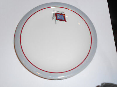 "Vintage WABASH RR Railroad 'BANNER'  B&B 5 1/2"" saucer Syracuse China 91-L USA  for sale  New Berlin"