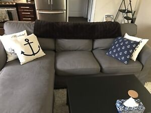 IKEA Ektorp Sofa with Chaise