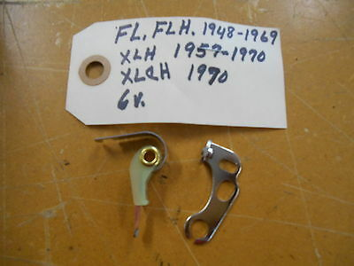 New  48-69 Harley Davidson  FL/FLH 57-70 XLH  Contact Points #01