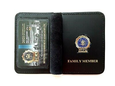 1 NEW 2021 DEA PBA CARD W/ LEATHER FAMILY MEMBER WALLET NOT  PBA  CEA  LBA SBA