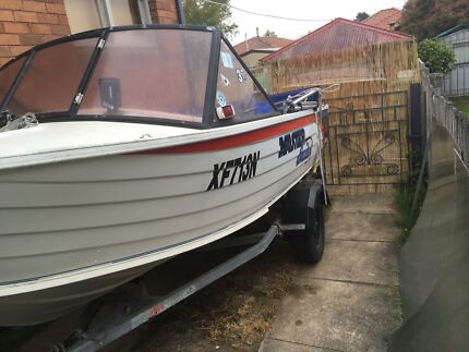Fishing boat sell or swap Bowenfels Lithgow Area Preview