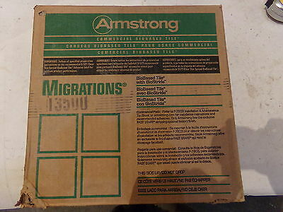 Armstrong Migrations 12 X 12 X 18 Biobased Commercial Tile T3500 45pc - New