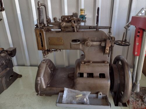 Landis 3 Needle Awl leather machine