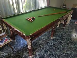 8x4 Slate Snooker/Pool Table - LOADS OF ACCESSORIES Hillside Melton Area Preview