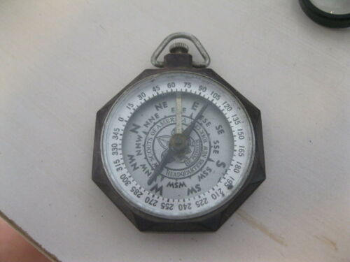 VINTAGE BOY SCOUTS COMPASS made by Taylor