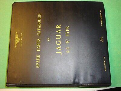(9800) Jaguar Used Original 4.2 Etype Parts Manual