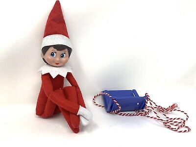 Holiday Elf on the Shelf Felt Figure Knee Hugger Christmas Decoration Doll