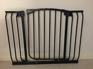 Child Safety Gate Extra Wide Black Ngunnawal Gungahlin Area Preview