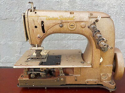 Industrial Sewing Machine Union Special 51-700 Two Needle Chain Stitch