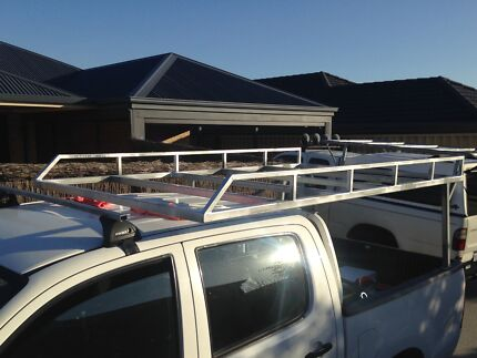 Custom Canvas Canopy Frames, Overhead Tradie & Trailer Racks Warwick Joondalup Area Preview