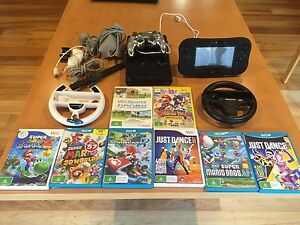 Wii U console 32gb + accessories + games Greenvale Hume Area Preview