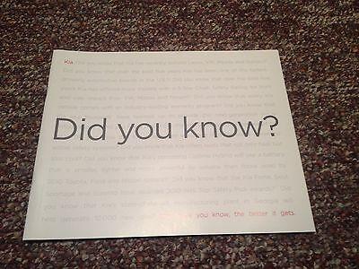 2011 Kia Dealership Full Line Brochure Book 29 Pages