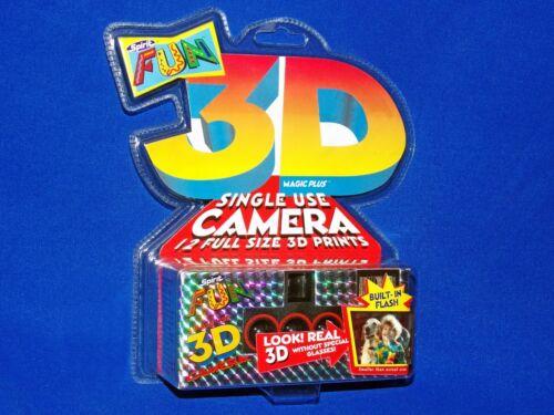 NEW! 1996 Collectible 3D Magic Plus Spirit Fun Lenticular Stereo 3D Camera