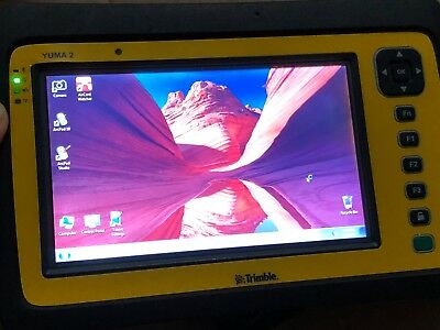 Trimble Yuma 2 Rugged Durable Tablet Pc 128gb Gps W Arcpad 10 Gis Survey Apps
