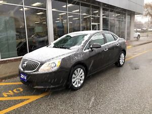 2014 Buick Verano ONLY 10,824KMS, One Owner Trade In.