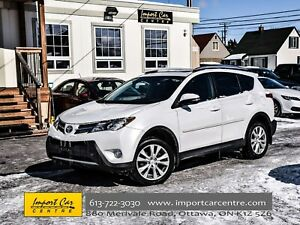 2015 Toyota RAV4 AWD Limited LEATHER ROOF NAV BK.CAM WOW!!