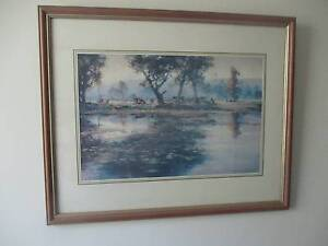 D'Arcy W. Doyle print. The Lily Pond Southport Gold Coast City Preview