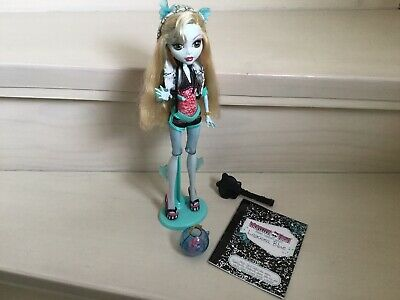 Monster High Puppe Lagoona Blue Basic 1. - Monster High Lagoona Puppe