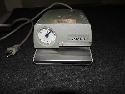 Vintage Amano Time Clock 4207