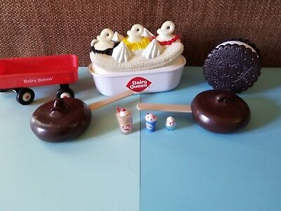 DAIRY QUEEN Ice Cream Play Pretend Food Set ~  for sale  Cleveland
