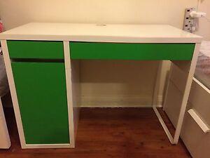 Green IKEA Micke Study Desk Lane Cove West Lane Cove Area Preview