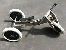 Wishbone 3 in 1 wooden balance bike St Albans Park Geelong City Preview