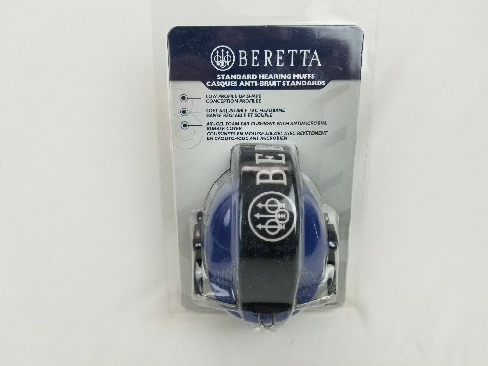 New in Packaging Beretta Standard Earmuff Blue - Free Shippi
