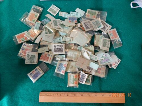 Over 500 Vintage OHIO TAX STAMPS - 1935 to 1960 - All denominations