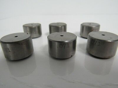 Punch Press Tools .071 Lot Of 6