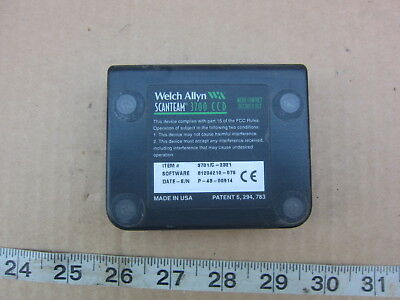 Welch Allyn 3701c-2321 31204210-076 Barcode Reader Software Used