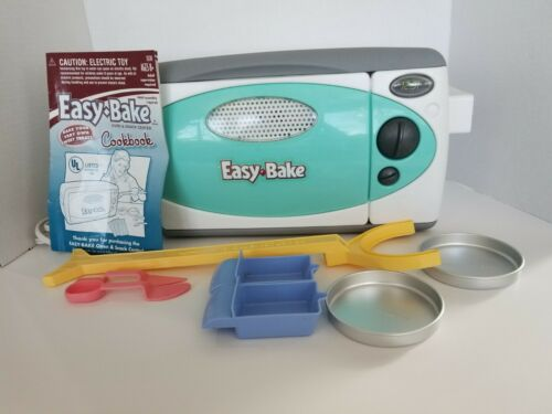 Vintage Hansbro Easy Bake toy in box with instructions and accessories