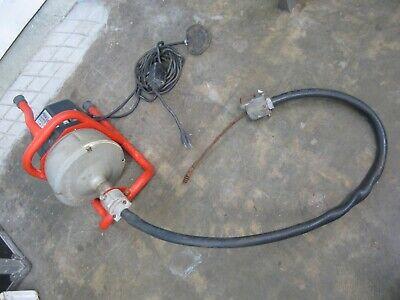 Ridgid Kollmann K-40 Sink Drain Cleaning Machine