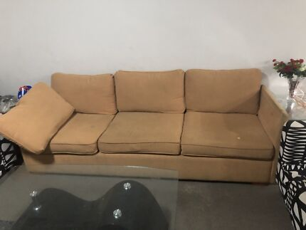 Free sofa and bed available for  pickup only